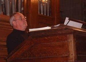 André Arcellaschi à l'orgue de Notre-Dame du Raincy